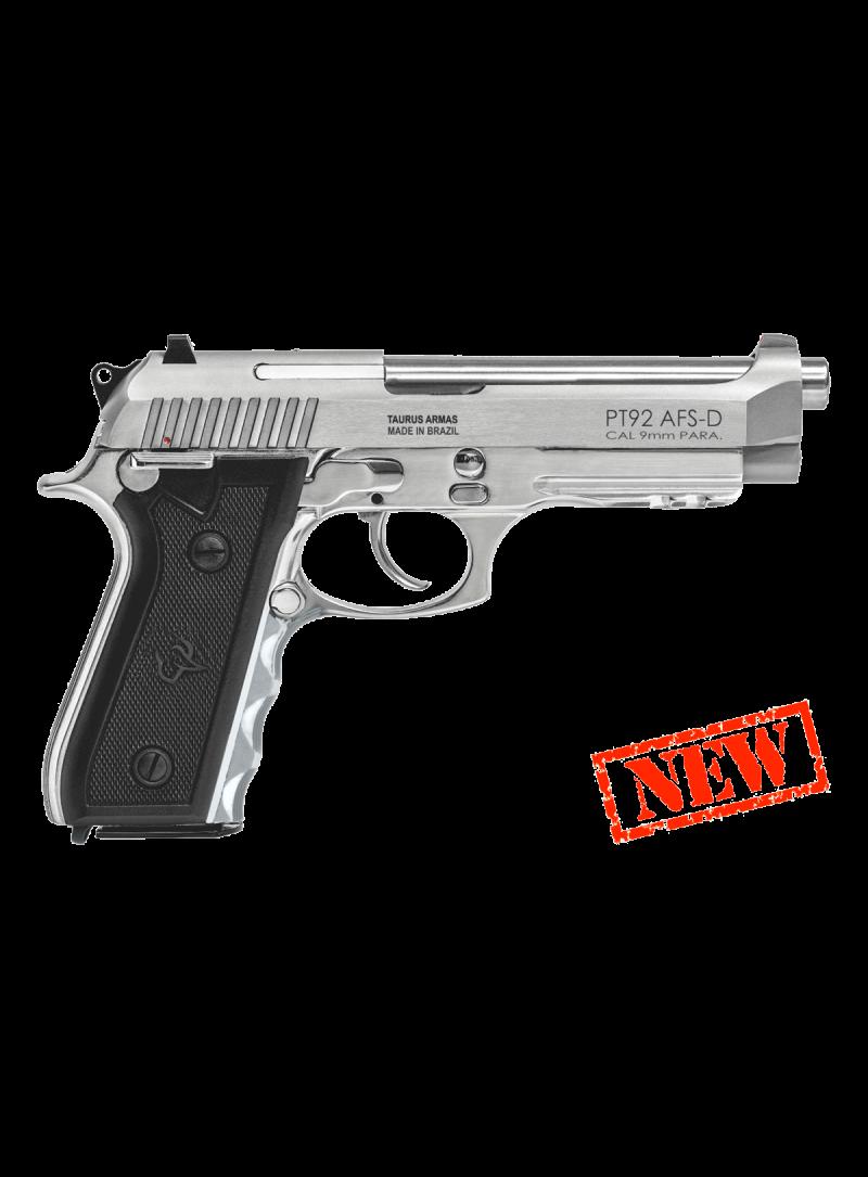 Pistola 92 Inox - Calibre 9 mm - Taurus